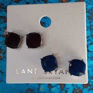 LANE BRYANT NEW EARRINGS STUD SET